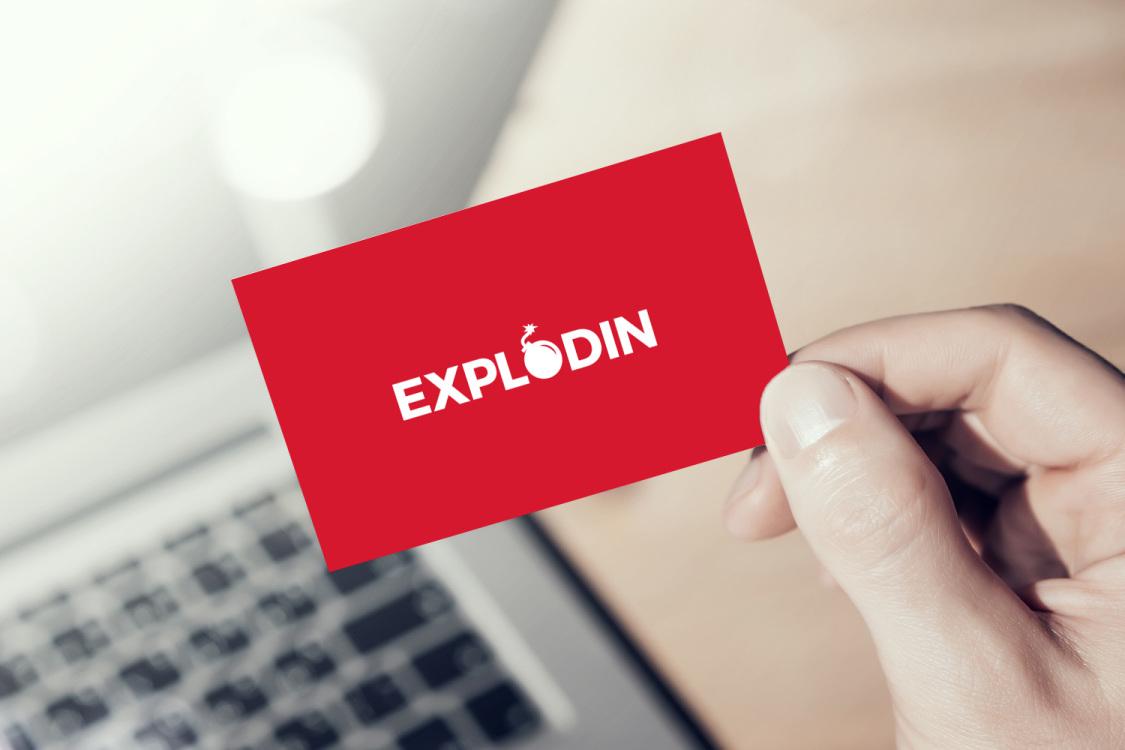 Sample branding #2 for Explodin