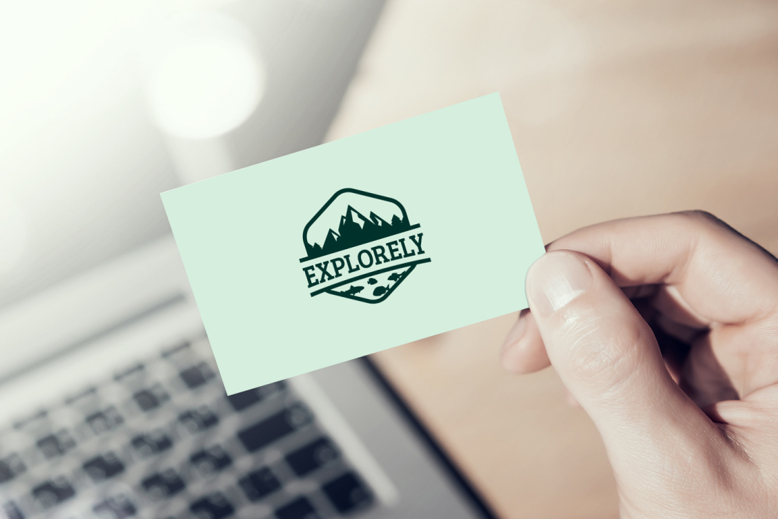 Sample branding #3 for Explorely