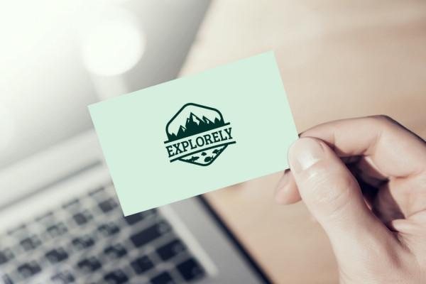 Sample branding #1 for Explorely