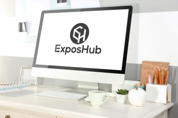 Sample branding #3 for Exposhub