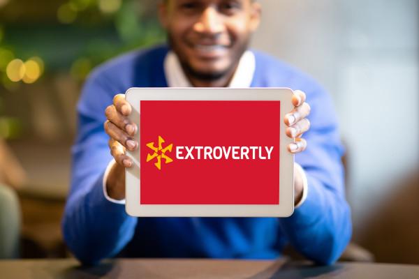 Sample branding #1 for Extrovertly