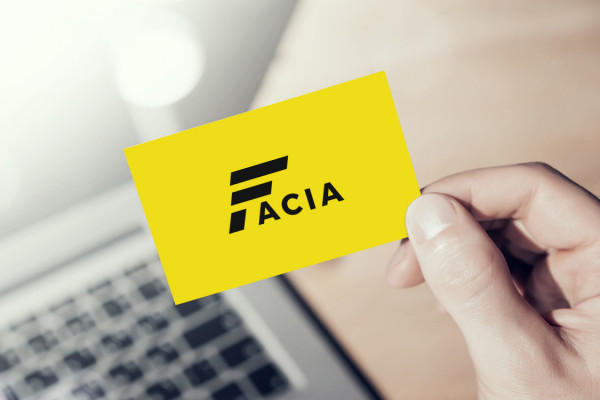 Sample branding #1 for Facia
