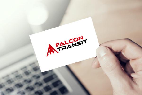 Sample branding #3 for Falcontransit