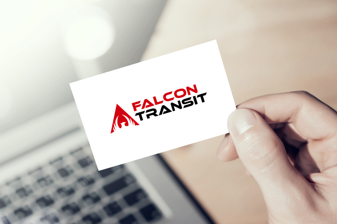 Sample branding #2 for Falcontransit