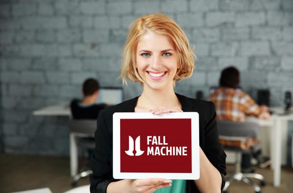 Sample branding #3 for Fallmachine