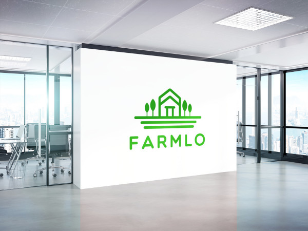 Sample branding #1 for Farmlo
