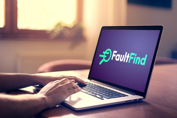 Sample branding #2 for Faultfind