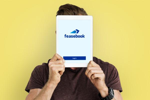 Sample branding #2 for Feasebook