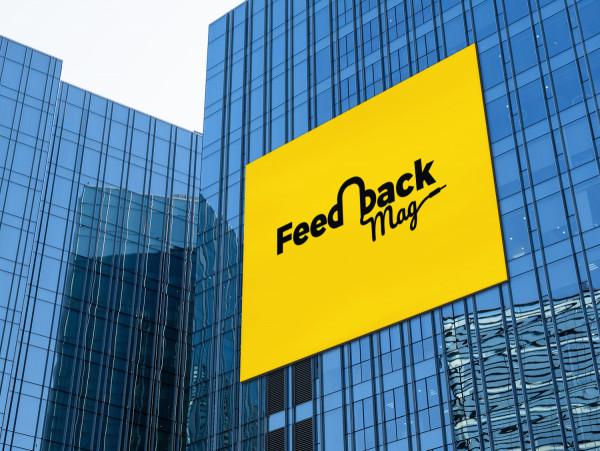 Sample branding #3 for Feedbackmag