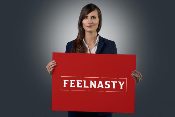 Sample branding #1 for Feelnasty