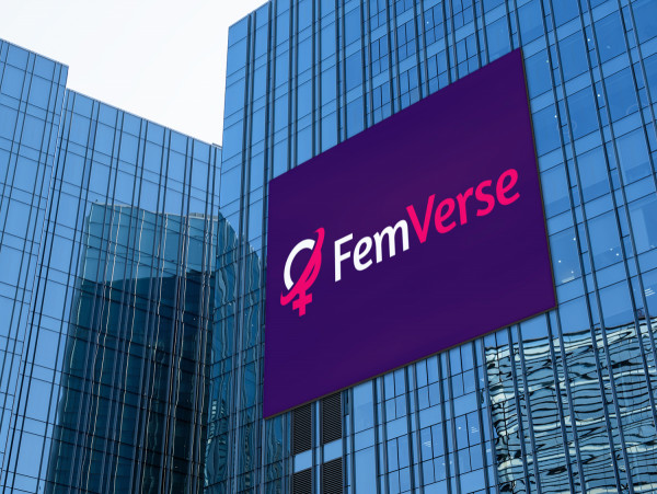 Sample branding #1 for Femverse