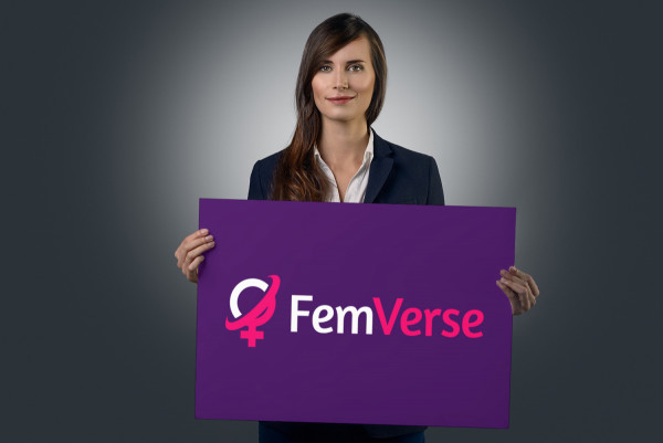 Sample branding #3 for Femverse