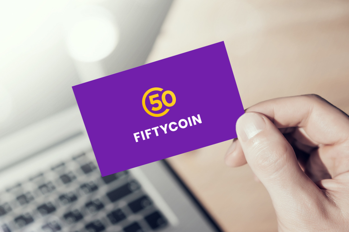 Sample branding #2 for Fiftycoin