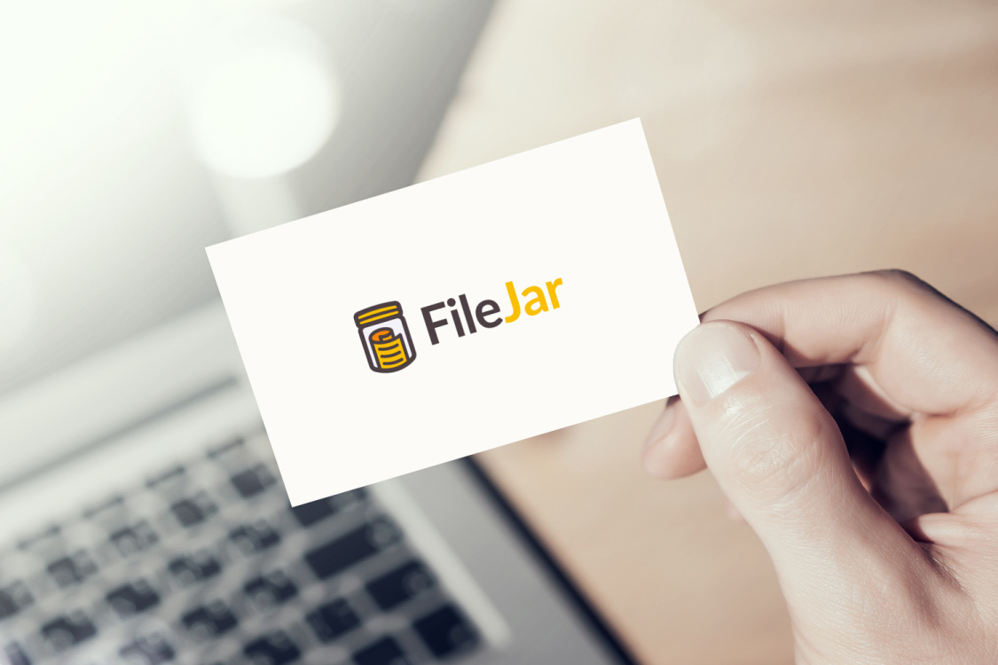 Sample branding #2 for Filejar
