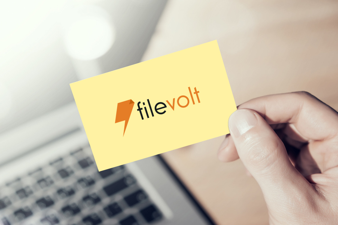 Sample branding #2 for Filevolt