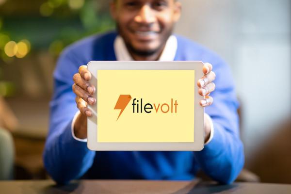 Sample branding #1 for Filevolt