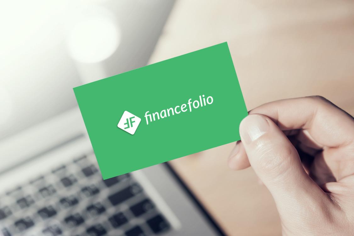 Sample branding #1 for Financefolio