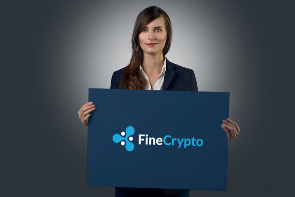 Sample branding #3 for Finecrypto