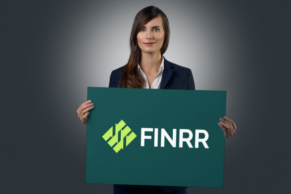 Sample branding #2 for Finrr