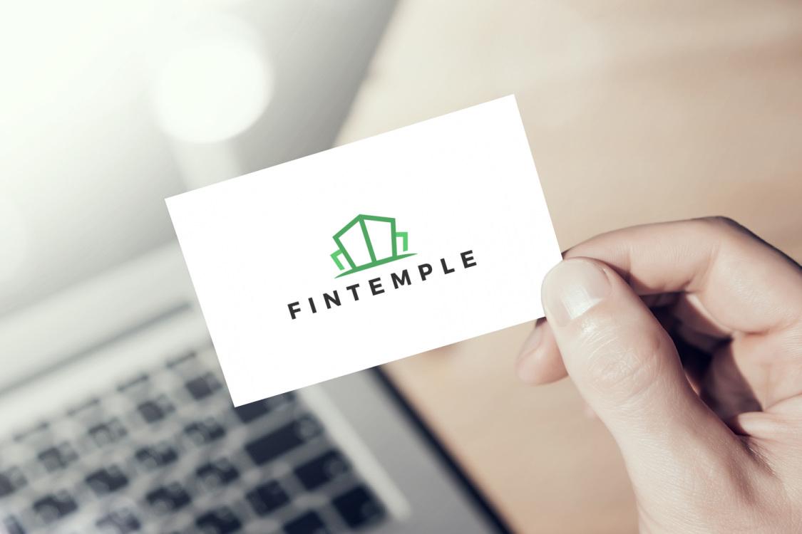 Sample branding #1 for Fintemple