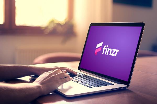 Sample branding #2 for Finzr