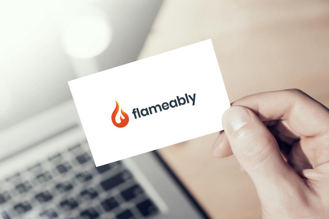 Sample branding #2 for Flameably