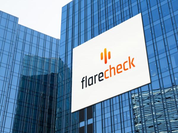 Sample branding #2 for Flarecheck