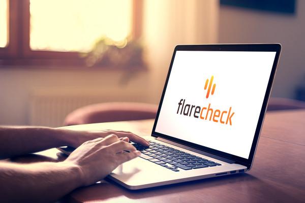 Sample branding #1 for Flarecheck