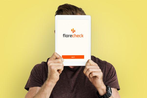 Sample branding #3 for Flarecheck