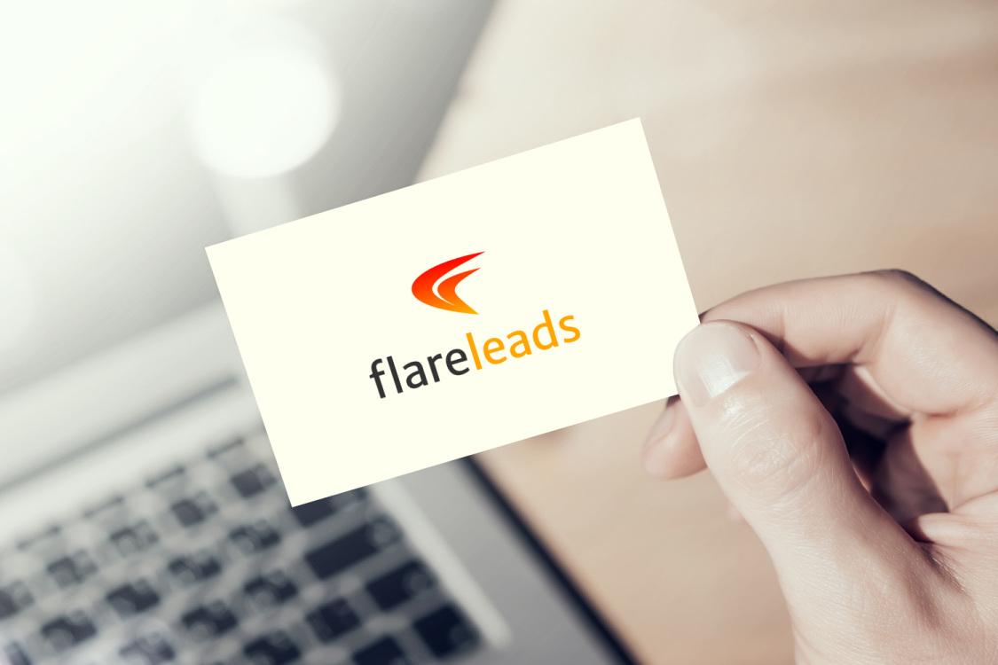 Sample branding #2 for Flareleads