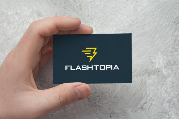 Sample branding #1 for Flashtopia