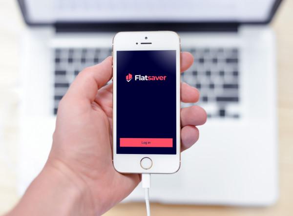 Sample branding #2 for Flatsaver