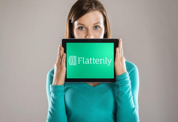 Sample branding #1 for Flattenly