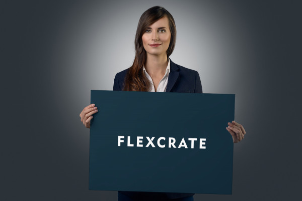 Sample branding #2 for Flexcrate
