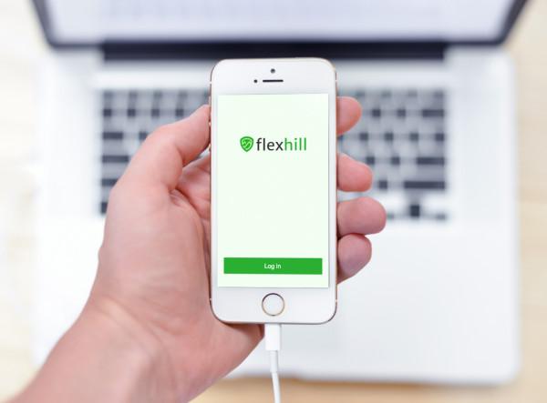 Sample branding #3 for Flexhill