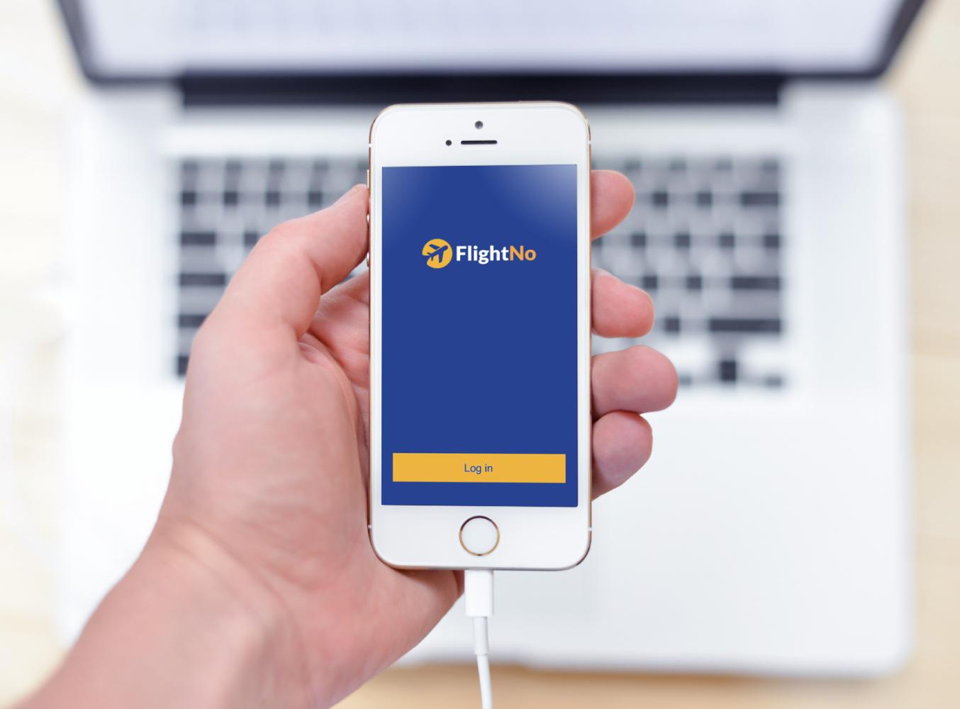 Sample branding #3 for Flightno