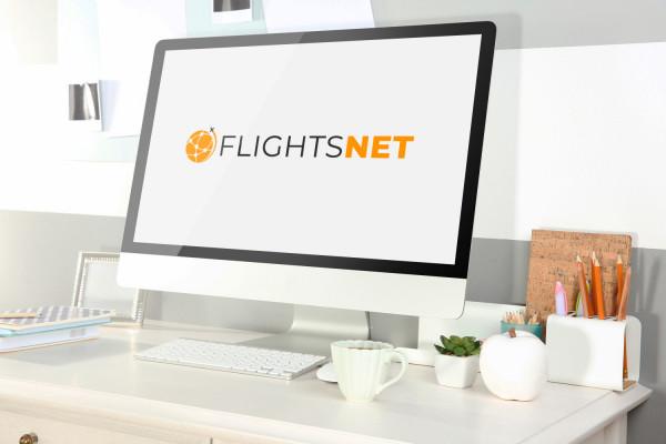 Sample branding #2 for Flightsnet