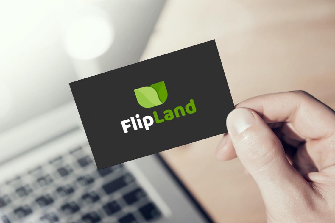 Sample branding #3 for Flipland