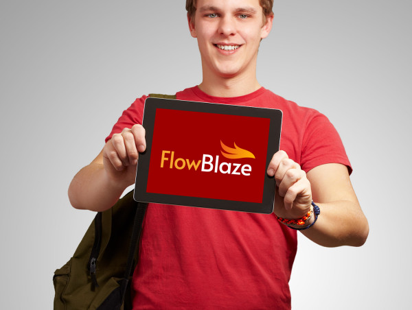 Sample branding #2 for Flowblaze