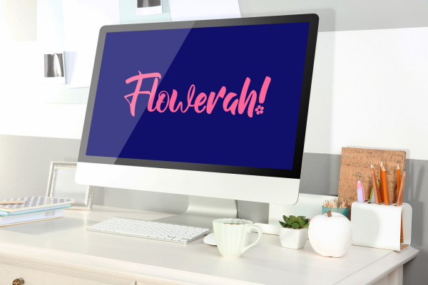 Sample branding #3 for Flowerah