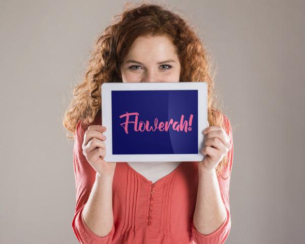 Sample branding #2 for Flowerah