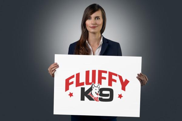 Sample branding #1 for Fluffyk9