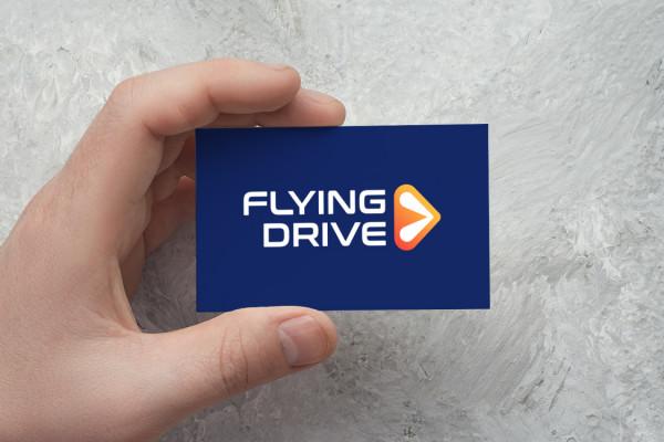 Sample branding #3 for Flyingdrive