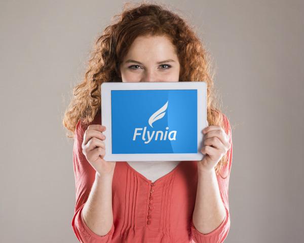 Sample branding #1 for Flynia