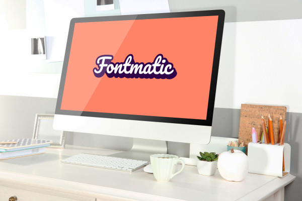 Sample branding #1 for Fontmatic