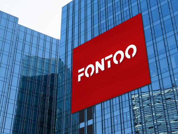 Sample branding #3 for Fontoo