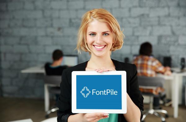 Sample branding #2 for Fontpile