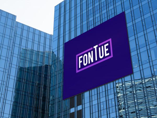 Sample branding #1 for Fontue
