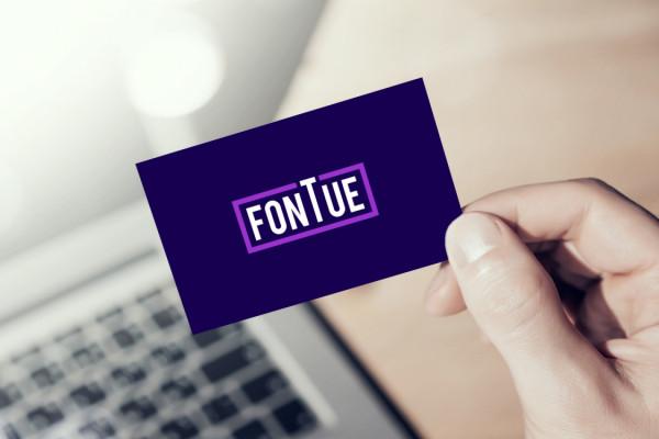 Sample branding #2 for Fontue