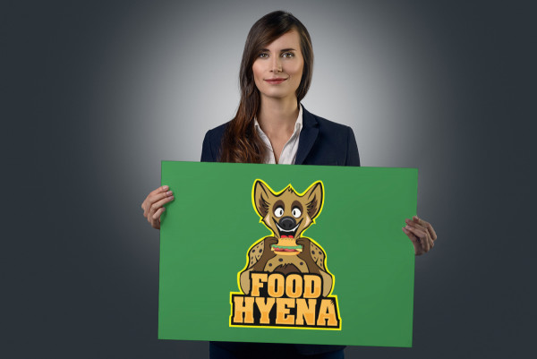 Sample branding #1 for Foodhyena